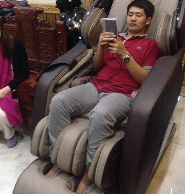 Feedback khách hàng mua ghế massage cao cấp Shika SK-8918