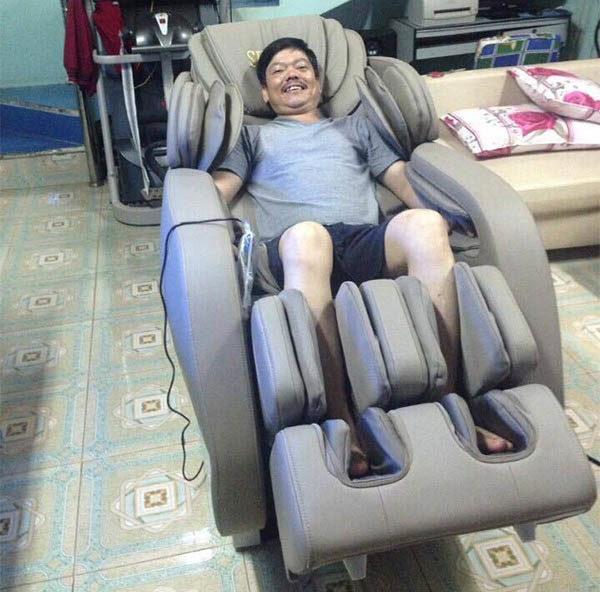 Phản hồi mua ghế massage cao cấp Shika SK-8918