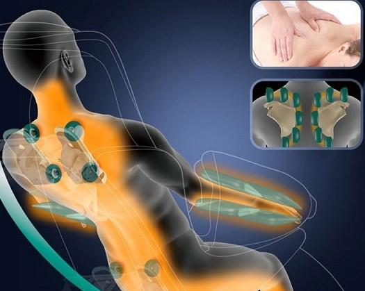 Ghế matxa Nhật Bản mát xa trị liệu giảm đau hiệu quả