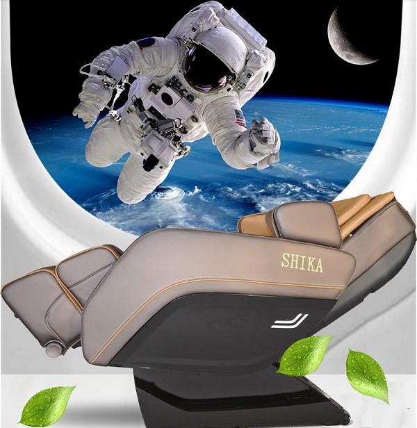 Ghế matxa Shika khám phá vũ trụ