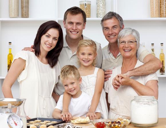 mua ghế mát xa cho gia đình nhiều thế hệ