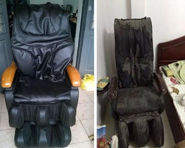 Cách vệ sinh ghế matxa hiệu quả nhanh chóng