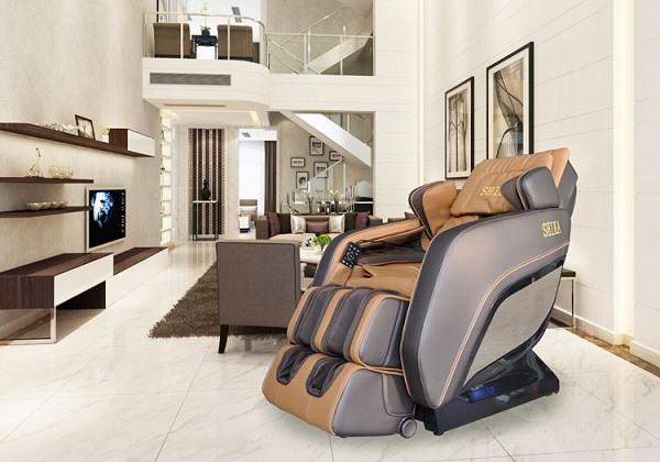 Cậu nên mua ghế massage, để luôn ở nhà đi