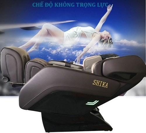 Ghế matxa Shika với chế độ Zero Gravity