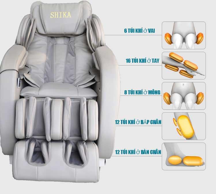 Công dụng ghế massge toàn thân