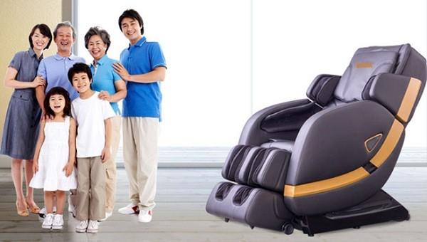 Có loại ghế massage phù hợp cho cả gia đình không?