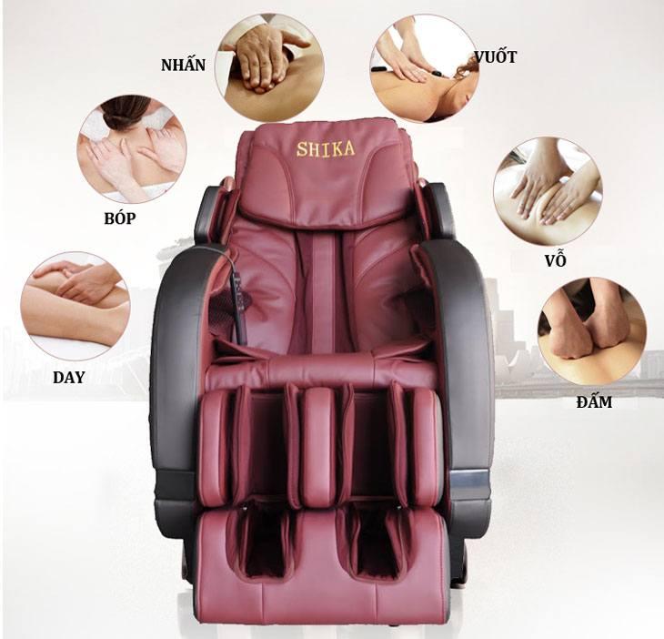 ghế massage giá rẻ với các bài mát xa toàn thân tuyệt vời