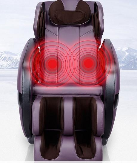 Tính năng nhiệt hồng ngoại trong ghế massage