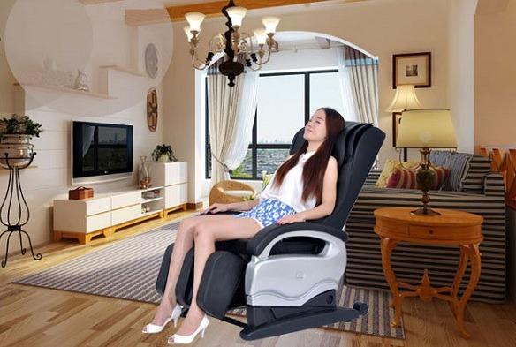 Ghế massage tại nhà tiết kiệm thời gian