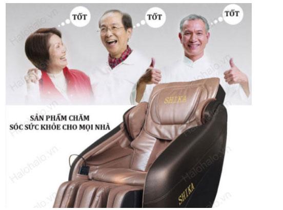 ghế massage cho người già ai có thể dùng được