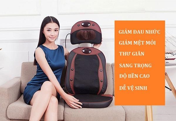 thanh lý ghế massage lưng New Magic XD-803