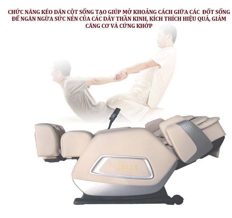 không nên cho trẻ em dưới 6 tuổi sử dụng ghế massage