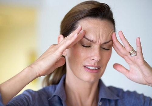 đau đầu do rối loạn tiền đình, mệt mỏi