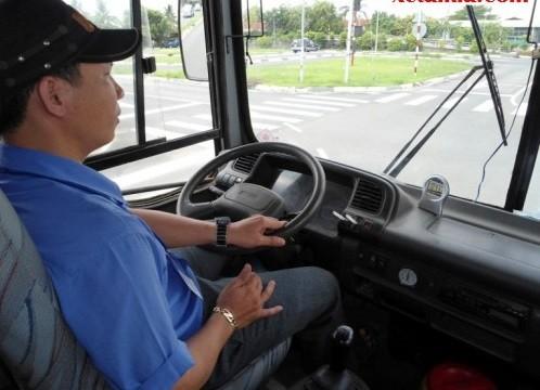 Lái xe tải - ghế mát xa ô tô