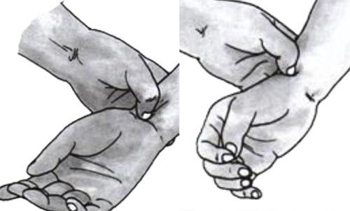 Có 5 thao tác cơ bản trong bấm huyệt massage