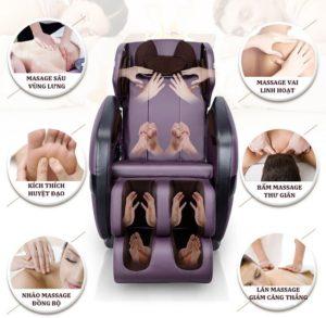 ghế xoa bóp toàn cơ thể thư giãn