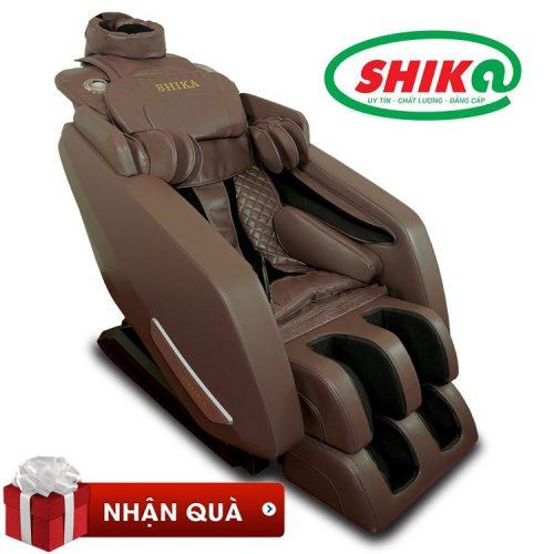 Ghế massage toàn thân cao cấp Shika SK-116 pro