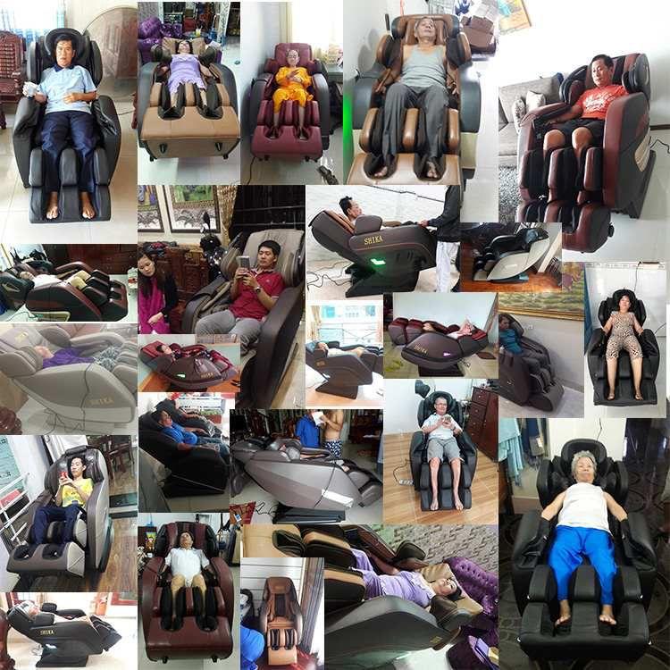 Giới thiệu ghế massage shika